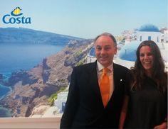 Costa Crociere presenta la madrina di Costa Diadema: Carolina Miceli, agente di viaggio italiana, battezzerà la nuova Ammiraglia
