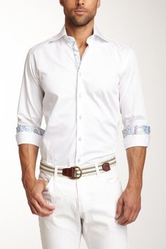 CafeBleu Barrington White Shirt