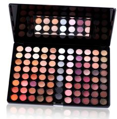 SHANY Natural Fusion Eyeshadow Palette (88 Color Eyeshadow Palette, Nude Palette), 2.15 Ounce - This palette is a staple in any make up artist's kit. A great blend of mattes and shimmers. Warm tones to compliment any eye color and skin tone. Use li