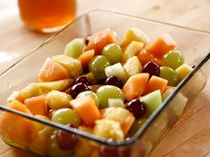 Fruit Salad with Spiced Honey and Thyme recipe from Ree Drummond via Food Network