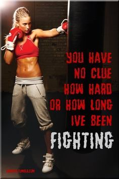 Fighting to be fit and healthy! Worth every drop of sweat!