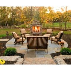 Patio Fireplace Design, Pictures, Remodel, Decor and Ideas - page 41
