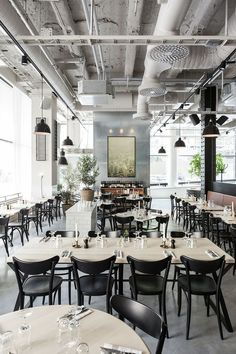 Restaurante Usine / Richard Lindvall. Photography by Mikael Axelsson