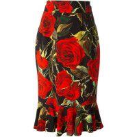 Dolce & Gabbana Saia Midi Floral