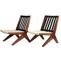 Clara Porset, Lounge Chairs, 1960s. #claraporset #hechoenmexico