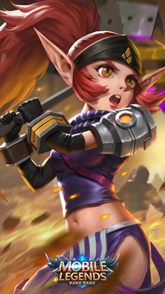 Wallpaper Mobile Legends Lolita Soldier in Training Skin Mobile Legend Wallpaper, Hero Wallpaper, Hero Fighter, Magic Shoes, The Legend Of Heroes, Lion Dance, Thing 1, Games Images, Poker Online