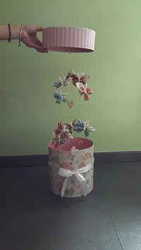 Geldgeschenk mit Schmetterlinge