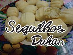 Sequilhos Dukan 5 ingredientes e pronto em menos de 20 minutos