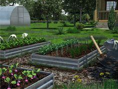 Перфорированные грядки, это идеальное решение для вашего огорода или фермерского хозяйства.  Отверстия в бортиках, обеспечивают идеальную вентиляцию и отвод излишней влаги из почвы, препятствуя закисанию и плесневению. Plants, Plant, Planets
