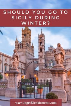 Sicily in winter - is that a good idea? Here's your answer! - Visit one of the best European winter destinations for sunny weather! Italy Destinations, Winter Destinations, Italy Vacation, Italy Travel, Visit Sicily, Best Subscription Boxes, Sunny Weather, Enjoying The Sun, Positano