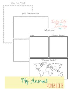 Free Biology worksheets! Parents can also help students to learn ...