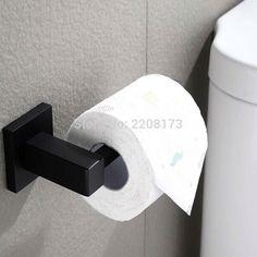 Matte Black Br Toilet Paper Holder Bathroom Smesiteli