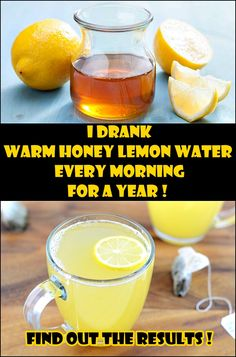 I Drank Warm Honey Lemon Water Every Morning for a Year- Here are the amazing results !! I have not had a cold, flu or gastro illness in the entire year   000