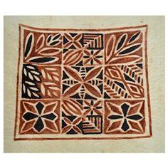 Leaves Siapo (Tapa) - Barkcloth art from Western Samoa.  http://www.worldtravelart.com/Samoan_Siapo_Tapa_Cloth_s/1822.htm