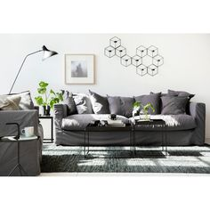 Le Grand Air klädsel, grå i gruppen Möbler / Tillbehör möbler / Klädsel hos RUM21.se (128373)