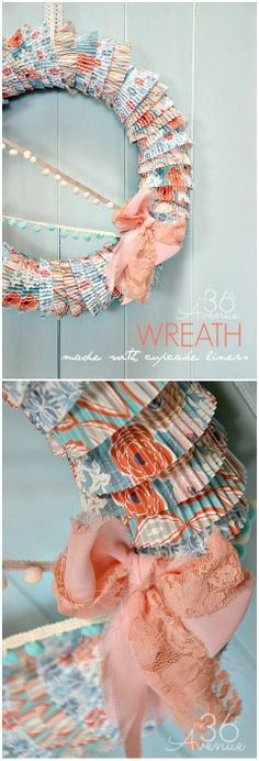 Spring Wreath Tutori
