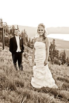 Outdoor wedding, lake tahoe, outdoor photography    Wedding: Lake Tahoe  Location: Heavenly  Website: http://zinserphoto.com/  Become a fan: http://facebook.com/    Zinser Photography will travel anywhere for your destination wedding. 775-560-6768