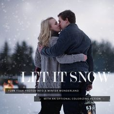Add snow to your pictures using the Colorvale Let It Snow Overlay Photoshop Actions For Photographers, How To Use Photoshop, Photoshop Tips, Photoshop Photography, Photoshop Tutorial, Photography Ideas, Portrait Photography, Snow Overlay, Pretty Presets