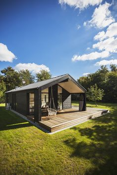 Modern Barn House, Plads, Virtual Reality, Compact, Sweet Home, Cabin, Mansions, House Styles, Inspiration