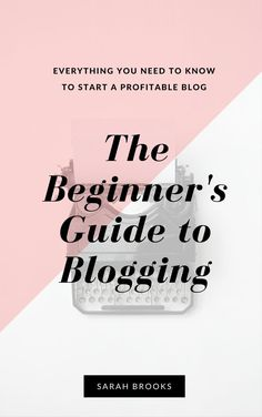 Check out all the details on my very first ebook - The Beginner's Guide to…