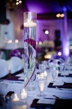Wedding, Flowers, Reception, Purple