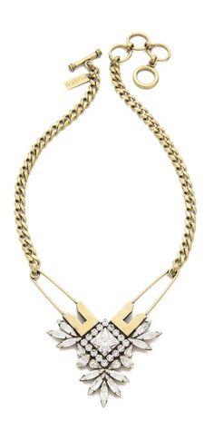 AUDEN Madison Pin Pendant Necklace | SHOPBOP