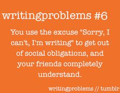 Writing Problems - not sure how this qualifies as a problem, I use it all the time and it works! Writer Memes, Writer Tips, Cool Writing, Writing A Book, Writing Ideas, Creative Writing, Writing Quotes, Writing Prompts, Writing Problems