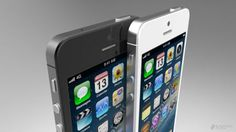 "Here is a new rendering matching the iPhone ""5""rumors picture and vidéo"