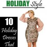 10 Plus Size Holiday Dresses to Turn Heads this Season