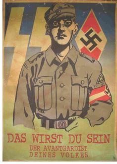 """German WW2  """"You will be the Avantgardist of your people"""""""