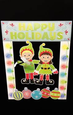 The CTP elves didn't want to miss out on all of the #loveyoursELFie fun, so they hopped in the photobooth for a little selfie stick action!  Make your classroom elf-sufficient with this festive holiday set.