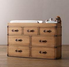 Wilkes Trunk Wide Dresser Topper