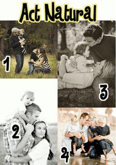 Ideas for family photos
