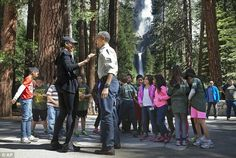 Obama told the children about the very first time he saw moose and deer in a national park when he was 11 years old and how it 'changed' him