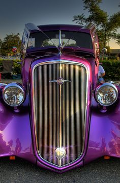 Purple car...Brought to you by House of Insurance Eugene, Oregon 97401