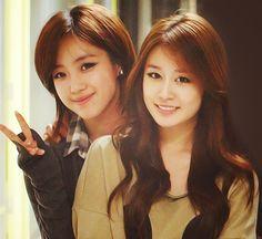 Eunjung and Jiyeon (best friends)