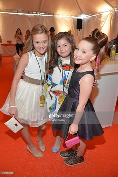 Actresses Lizzy Greene, Addison Riecke and Ella Anderson attend... News Photo | Getty Images