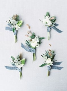Blue Wedding Flowers 20 Beautiful Dusty Blue Bouquet For Your Wedding Day - weddingtopia - Be it I love you or I'm sorry, sending roses is the ideal way to provide someone a lift in addition to send a message that you might be reluctant to say March Wedding Colors, Winter Wedding Flowers, Wedding Themes, Spring Wedding, Floral Wedding, Wedding Bouquets, Wedding Decorations, Rustic Wedding, Wedding Ideas