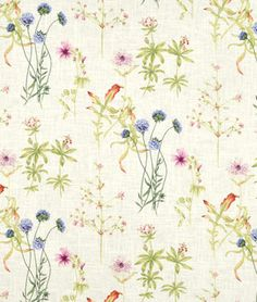 Shop Covington Abbey Gardens White Fabric at onlinefabricstore.net for $9.97/ Yard. Best Price & Service. $10