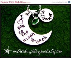 christmasinjuly ON SALE Personalized by MotherDaughterJewel, $49.49