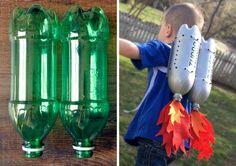 DIY… ¿Qué se puede hacer con un pa de botellas de refresco vacías? ¡Un propulsor para tu peque! No te pierdas el tutorial en The Asylum