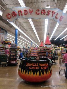 How cool to have Jungle Jim's International Market, the largest grocery store in the country, right here in Cincinnati.  You've got to see it to understand why we consider a trip to a grocery store an adventure!