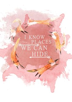 I Know Places ~ Taylor Swift