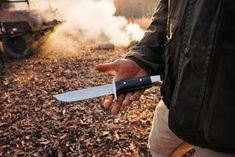 We started out making fixed blade knives many, many years ago. Since the beginning we've built them sturdy, durable, and with an edge that will last. This 124 Frontiersman carries on this tradition. Fixed Blade Knife, Tactical Knives, Camping Survival, Hunting, Tactical Knife, Fighter Jets, Custom Knives
