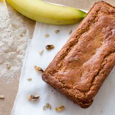 This is an easy to make banana bread recipe. This recipe is a healthy version of banana bread made with whole wheat, greek yogurt and no butter.