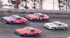 Vintage NASCAR Isaac Petty Allison Waltrip Richard Petty, King Richard, Real Racing, Auto Racing, Nascar Racers, Nascar Trucks, Old Race Cars, Classic Motors, Car Pictures