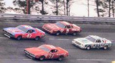 Vintage NASCAR Isaac Petty Allison Waltrip Richard Petty, King Richard, Real Racing, Auto Racing, Nascar Racers, Nascar Trucks, Classic Race Cars, Old Race Cars, Classic Motors
