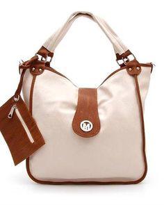 bd0662e4750e Bella Mondini Two Tone Fold Over Hobo HoboWomen  Bags  Handbags Shop Now
