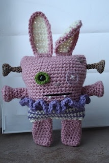 Frankenbunny - Cute looking bunny but  not a great pattern