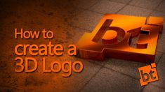 How to create a 3D Logo in Blender